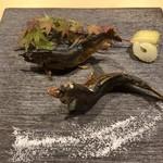 110830621 - 那珂川の天然鰻炭火焼き