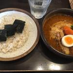 らっきょ&Star - チキンスープカレーと玄米ライス