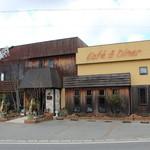 Cafe&diner West - 喫茶ウエスト外観