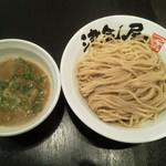 つけ麺 津気屋 - 津気屋つけ麺(麺大盛り)
