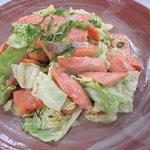 mogu - 鮭とキャベツのチャンチャン焼き