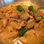 mogu - 若鶏のグリーンカレー煮