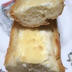 パン工房 ベルベ - ゴルゴンゾーラフランスの断面