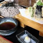金太郎 - 天婦羅冷やし、税抜き1,717円。