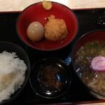 南蛮亭 - 料理写真:朝ごはん定食 550円。