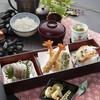 天ぷら つな八 - 料理写真:季節メニュー小箱と季節の天ぷら膳