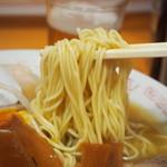 天天有 - 煮卵チャーシューメン(麺)