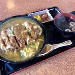 ちから - 料理写真:カツカレー丼 980円