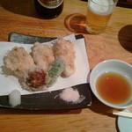 11086527 - かきの天ぷら650円