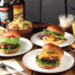 今を越える美味しさを目指し続ける、大人の為の<ハンバーガー>