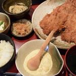 北海亭 - 料理写真:アジフライ定食 1200円(税込)