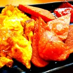鶏よし - ポーク玉子