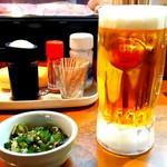 鶏よし - オリオンビール