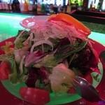 11087179 - トマトと色々野菜のグリーンサラダ