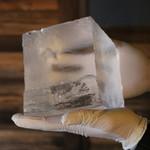 琉球かき氷 氷人 - 当店は純氷を使用しております!