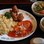 中国旬菜坊 幸來 - チャーハンプレート。