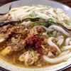 "Udon Kyutaro - 料理写真:iki× 辛味の""しゃんらん""の「魔法のラー油」"