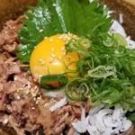 warayakiya - 釜揚げしらすのかつを飯
