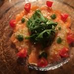 ミュスカ - 鮮魚のカルパッチョ〜自家製ソースで〜