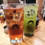 110880112 - ぱいぱい、茶割り