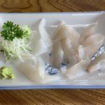 鈴屋食堂 - 新鮮なおさしみ ¥700