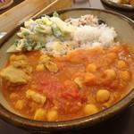 さんさき坂 - チキンのトマト煮込み