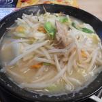 ガスト - 1日分の野菜のベジ塩タンメン 755円