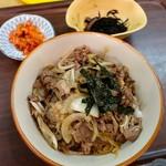 近江かね安 - 料理写真:大盛焼肉丼(1500円)