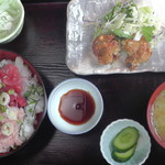 みさか和風料理 - なかおち・ねぎとろ丼