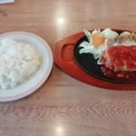 ジョイフル - チキンチーズステーキ(538円)