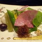 修伯 - 料理写真:野菜盛