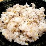 大戸屋 - ご飯は雑穀米の大盛にいたしました