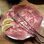 ホルモン本舗 じゅうじゅうぼうぼう - 塩タン714円