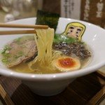 大重食堂 - (2019/5月)「純らーめん七節」の麺