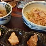 ツルモチ - 料理写真:和風つけ麺並盛♪