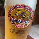 酔来軒 - 生ビール