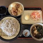 小木曽製粉所 - 料理写真:今回食べた物、、、取りすぎ(笑)