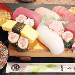 わかさ鮨 - ランチのにぎり寿司(1150円)