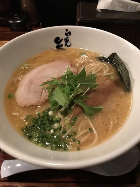 らーめん矢吹 本店 - 塩豚骨らーめん  750円