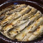 110894004 - 稚鮎の炊き込みご飯