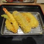 讃岐うどん 伊吹や製麺 - 天ぷら5種