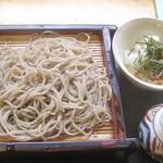 櫻屋 - 納豆おろし蕎麦¥1100