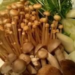 あまの井 - 鍋のお野菜