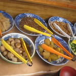 櫻屋 - 野菜中心のお惣菜1