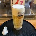 酒蔵 かっぱ - 生ビール