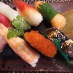 玄海鮨 - ちょっと アップ