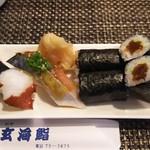 玄海鮨 - 追加  タコ  サバ  カンピョウ巻