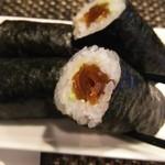 玄海鮨 - カンピョウ巻 ワサビ入り  ツンデレ巻と呼んでます