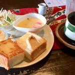 珈琲館櫟 - 料理写真:モーニングサービスA トラジャブレンドコーヒー