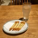 koshitsunikuandogyouzabarutsubasa - チーズスティック/グレープフルーツサワー